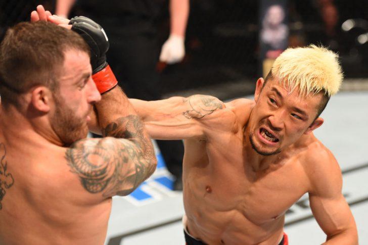 UFCファイトナイト・オークランド:アレックス・ボルカノフスキー vs. 廣田瑞人【ニュージーランド・オークランド/2017年6月11日(Photo by Josh Hedges/Zuffa LLC/Zuffa LLC via Getty Images)】