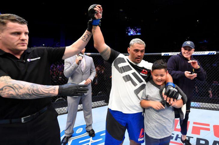 UFCファイトナイト・オークランド:デリック・ルイス vs. マーク・ハント【ニュージーランド・オークランド/2017年6月11日(Photo by Josh Hedges/Zuffa LLC/Zuffa LLC via Getty Images)】