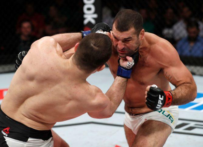 UFCファイトナイト・フォルタレザ:マウリシオ・フア vs. ジアン・ヴィランテ【ブラジル・セアラ州フォルタレザ/2017年3月11日(Photo by Buda Mendes/Zuffa LLC/Zuffa LLC via Getty Images)】