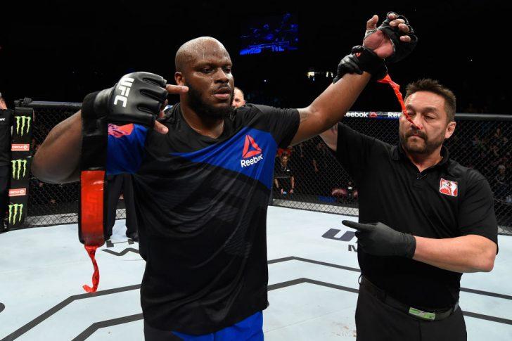 UFCファイトナイト・ハリファックス:デリック・ルイス vs. トラヴィス・ブラウン【カナダ・ノバスコシア州ハリファックス/2017年2月19日(Photo by Josh Hedges/Zuffa LLC/Zuffa LLC via Getty Images)】