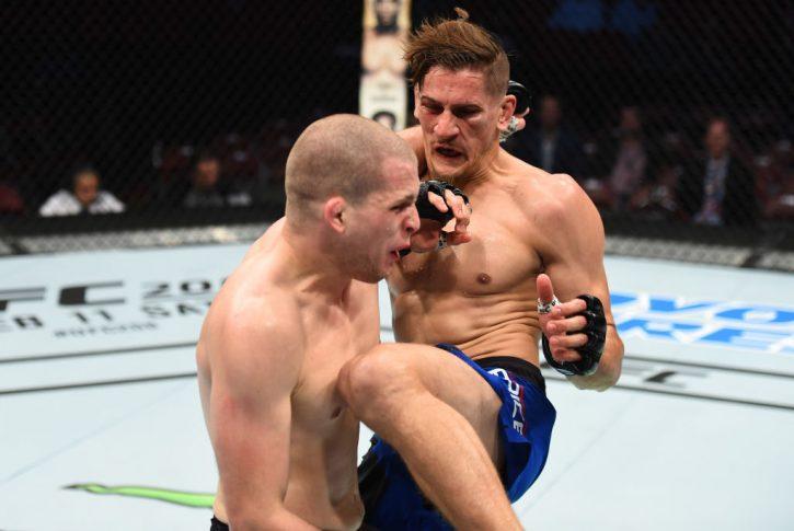 UFCファイトナイト・ヒューストン:アレックス・モロノ vs. ニコ・プライス【アメリカ・テキサス州ヒューストン/2017年2月4日(Photo by Jeff Bottari/Zuffa LLC/Zuffa LLC via Getty Images)】