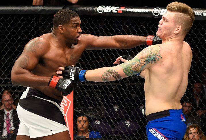 UFCファイトナイト・フェニックス:ウォルト・ハリス vs. チェイス・シャーマン【アメリカ・アリゾナ州フェニックス/2017年1月15日(Photo by Jeff Bottari/Zuffa LLC/Zuffa LLC via Getty Images)】