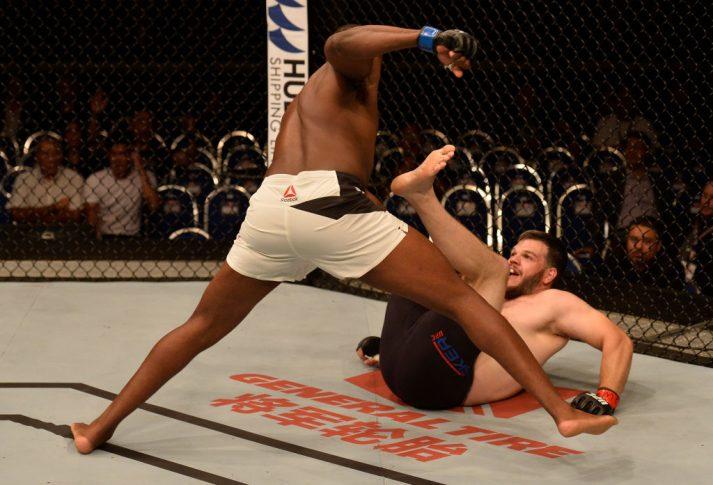 UFCファイトナイト・シンガポール:シリル・アスカー vs. ウォルト・ハリス【シンガポール・カラン/2017年6月17日(Photo by Brandon Magnus/Zuffa LLC/Zuffa LLC via Getty Images)】