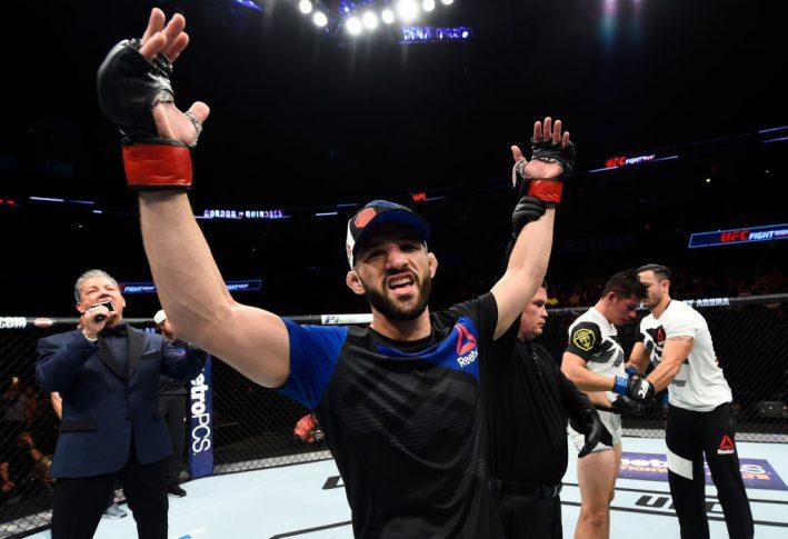 UFCファイトナイト・オクラホマシティ:ジャレッド・ゴードン vs. ミチェル・キニョネス【オクラホマ州・アメリカ/2017年6月25日(Photo by Brandon Magnus/Zuffa LLC/Zuffa LLC via Getty Images)】