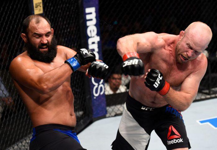 UFCファイトナイト・オクラホマシティ:ティム・ボーシュ vs. ジョニー・ヘンドリックス【オクラホマ州・アメリカ/2017年6月25日(Photo by Brandon Magnus/Zuffa LLC/Zuffa LLC via Getty Images)】