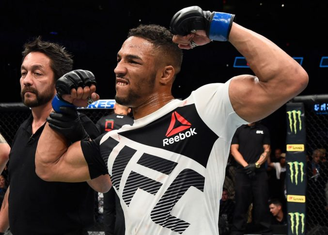 UFCファイトナイト・オクラホマシティ:マイケル・キエーザ vs. ケビン・リー【オクラホマ州・アメリカ/2017年6月25日(Photo by Brandon Magnus/Zuffa LLC/Zuffa LLC via Getty Images)】