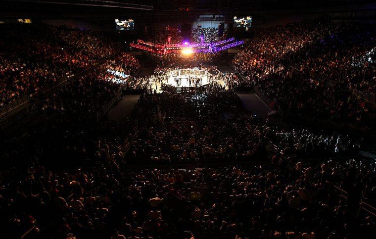 UFCファイトナイト・ジャパン【さいたまスーパーアリーナ/2014年9月20日(Photo by Mike Roach/Zuffa LLC/Zuffa LLC via Getty Images)】
