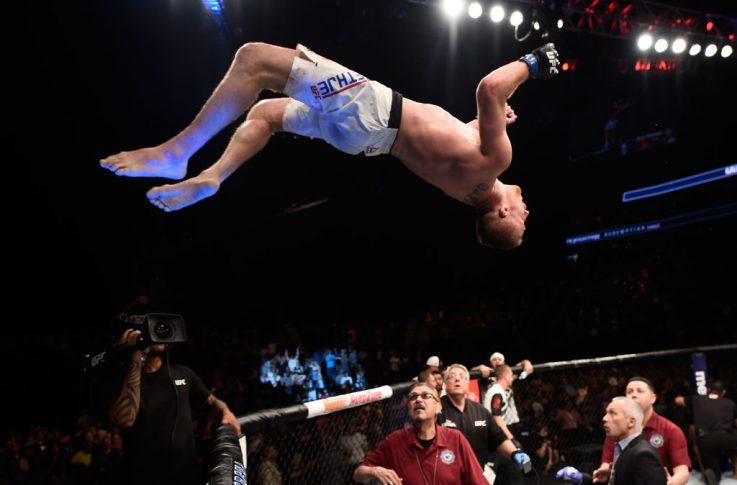 TUFリデンプションフィナーレ:マイケル・ジョンソン vs. ジャスティン・ゲイジー【アメリカ・ネバダ州ラスベガス/2017年7月7日(Photo by Brandon Magnus/Zuffa LLC/Zuffa LLC via Getty Images)】