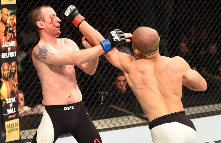 UFCファイトナイト・ロッテルダム:堀口恭司 vs. ニール・シーリー【オランダ・ロッテルダム/2016年5月9日(Photo by Dean Mouhtaropoulos/Getty Images)】