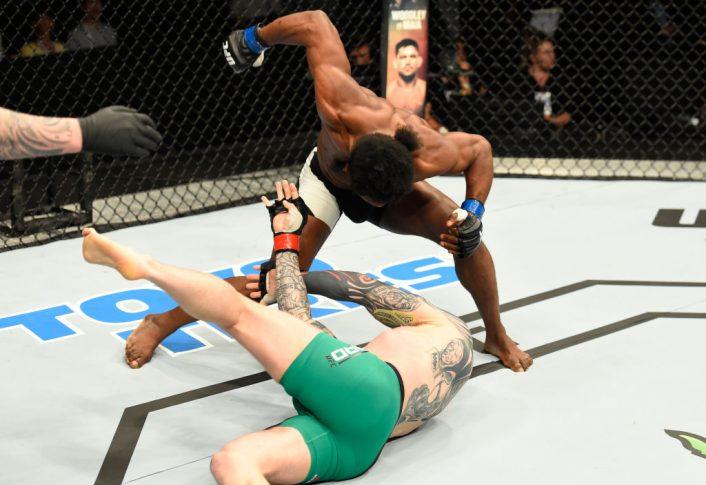 UFCファイトナイト・グラスゴー:チャーリー・ウォード vs. ガローア・ボファンド【スコットランド・グラスゴー/2017年7月16日(Photo by Josh Hedges/Zuffa LLC/Zuffa LLC via Getty Images)】