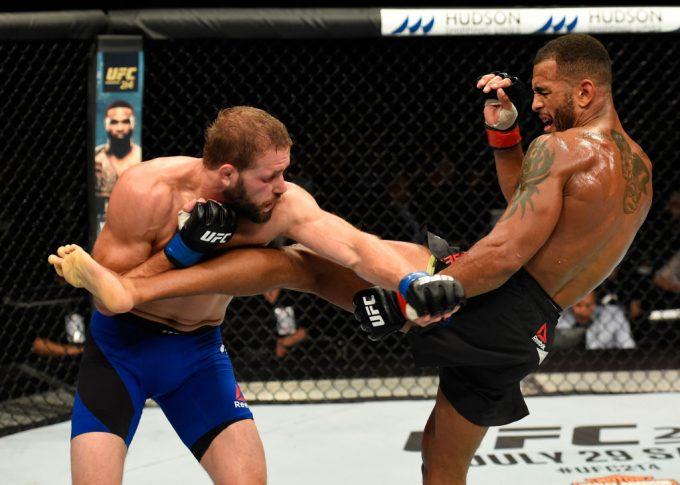 UFCファイトナイト・グラスゴー:ダニー・ロバーツ vs. ボビー・ナッシュ【スコットランド・グラスゴー/2017年7月16日(Photo by Josh Hedges/Zuffa LLC/Zuffa LLC via Getty Images)】