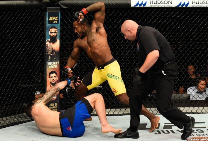 UFCファイトナイト・グラスゴー:カリル・ラウントリー vs. ポール・クレイグ【スコットランド・グラスゴー/2017年7月16日(Photo by Josh Hedges/Zuffa LLC/Zuffa LLC via Getty Images)】