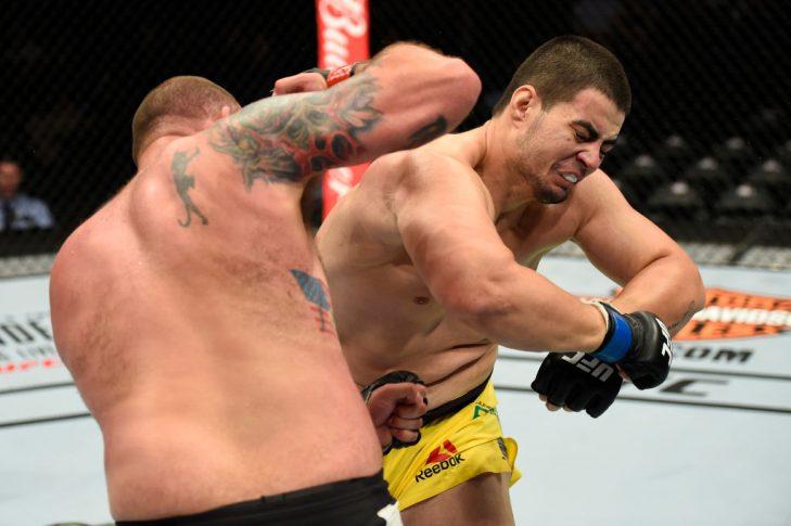 UFCファイトナイト・ロングアイランド:ティモシー・ジョンソン vs. ジュニオール・アルビニ【ニューヨーク州・アメリカ/2017年7月22日(Photo by Josh Hedges/Zuffa LLC/Zuffa LLC via Getty Images)】