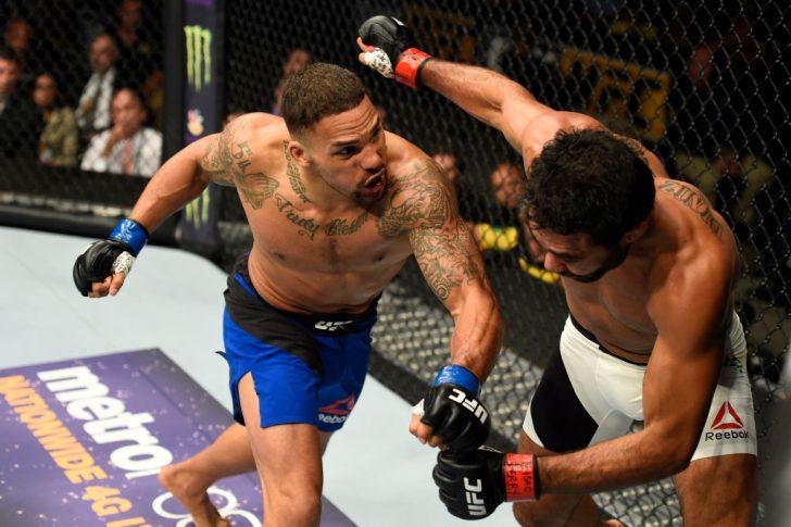 UFCファイトナイト・ロングアイランド:ハファエル・ナタウ vs. エリク・アンダース【ニューヨーク州・アメリカ/2017年7月22日(Photo by Josh Hedges/Zuffa LLC/Zuffa LLC via Getty Images)】