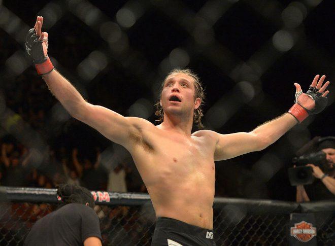 UFC 199:ブライアン・オルテガ vs. クレイ・グイダ【カリフォルニア州イングルウッド/2016年6月5日 (Photo by Jayne Kamin-Oncea/Getty Images)】