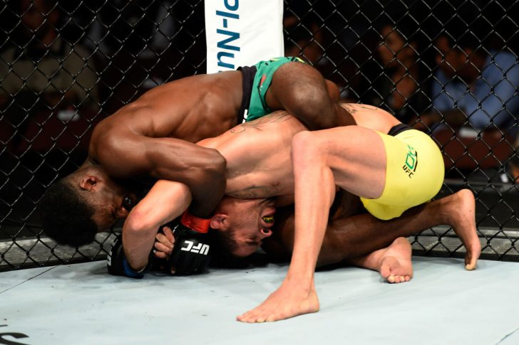 UFC 214:アルジャメイン・スターリング vs. ヘナン・バラオン【アメリカ・カリフォルニア州アナハイム/2017年7月29日(Photo by Josh Hedges/Zuffa LLC/Zuffa LLC via Getty Images)】