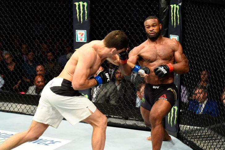 UFC 214:タイロン・ウッドリー ...