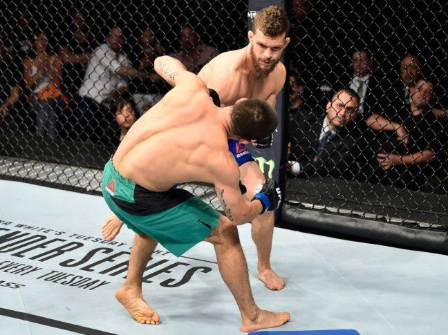 UFCファイトナイト・メキシコシティ:ダスティン・オルティス vs. ヘクター・サンドバル【メキシコ・メキシコシティ/2017年8月5日(Photo by Jeff Bottari/Zuffa LLC/Zuffa LLC via Getty Images)】
