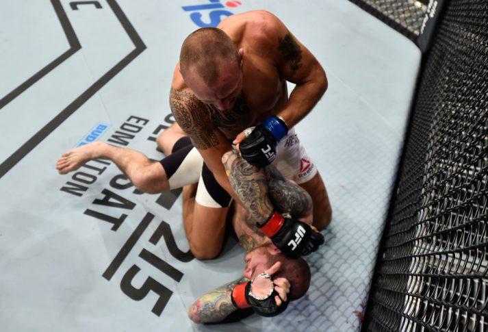 UFCファイトナイト・メキシコシティ:ブラッドリー・スコット vs. ジャック・ハーマンソン【メキシコ・メキシコシティ/2017年8月5日(Photo by Jeff Bottari/Zuffa LLC/Zuffa LLC via Getty Images)】
