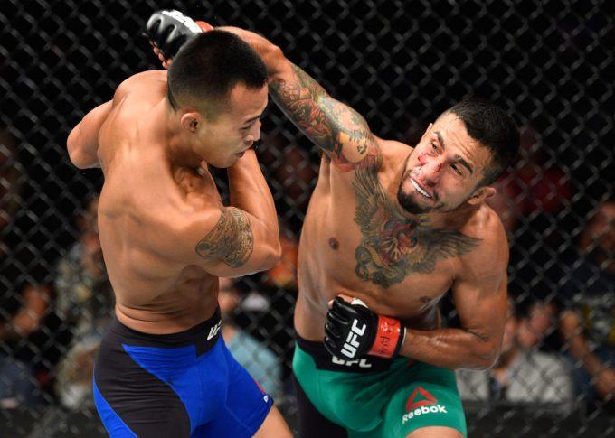 UFCファイトナイト・メキシコシティ:アレハンドロ・ペレス vs. アンドレ・スーカムタス【メキシコ・メキシコシティ/2017年8月5日(Photo by Jeff Bottari/Zuffa LLC/Zuffa LLC via Getty Images)】