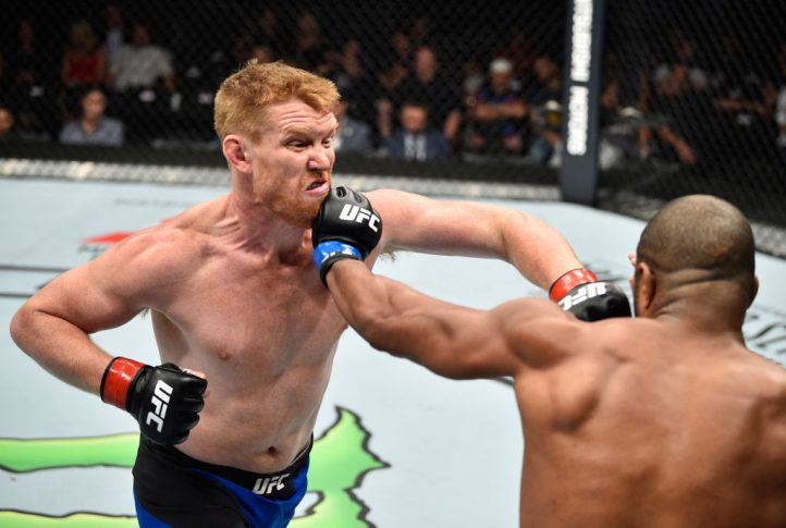UFCファイトナイト・メキシコシティ:サム・アルビー vs. ラシャド・エバンス【メキシコ・メキシコシティ/2017年8月5日(Photo by Jeff Bottari/Zuffa LLC/Zuffa LLC via Getty Images)】