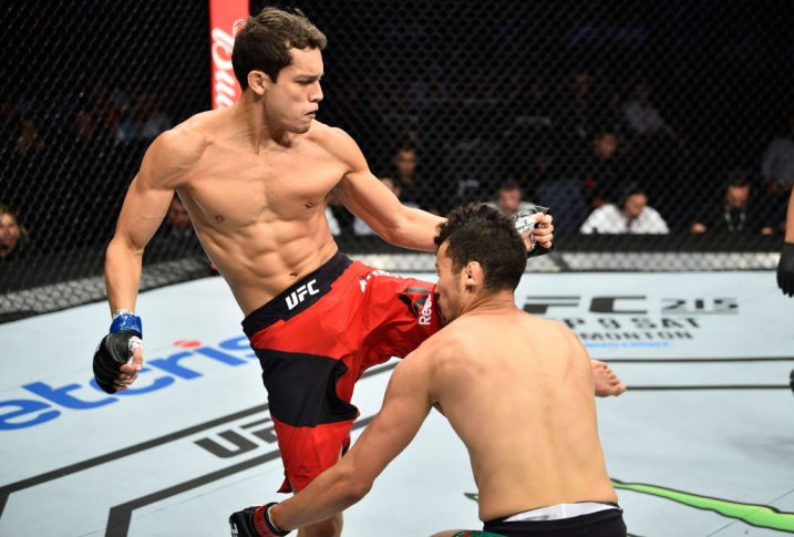 UFCファイトナイト・メキシコシティ:マルティン・ブラボー vs. ウンベルト・バンデナイ【メキシコ・メキシコシティ/2017年8月5日(Photo by Jeff Bottari/Zuffa LLC/Zuffa LLC via Getty Images)】