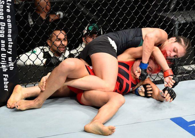 UFCファイトナイト・メキシコシティ:ランダ・マルコス vs. アレクサ・グラッソ【メキシコ・メキシコシティ/2017年8月5日(Photo by Jeff Bottari/Zuffa LLC/Zuffa LLC via Getty Images)】