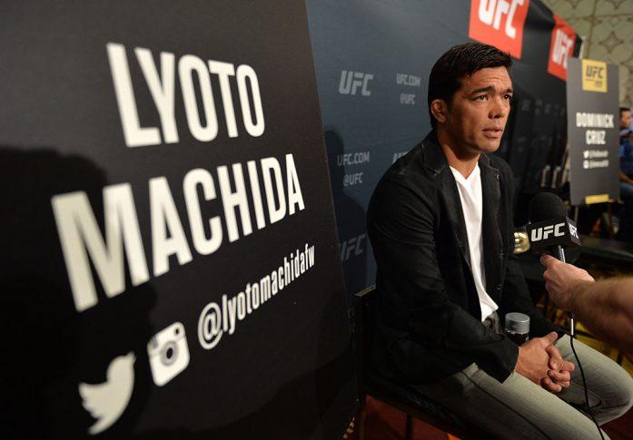 UFC 199:メディアイベントに登場したリョート・マチダ【Photo by Brandon Magnus/Zuffa LLC/Zuffa LLC via Getty Images】
