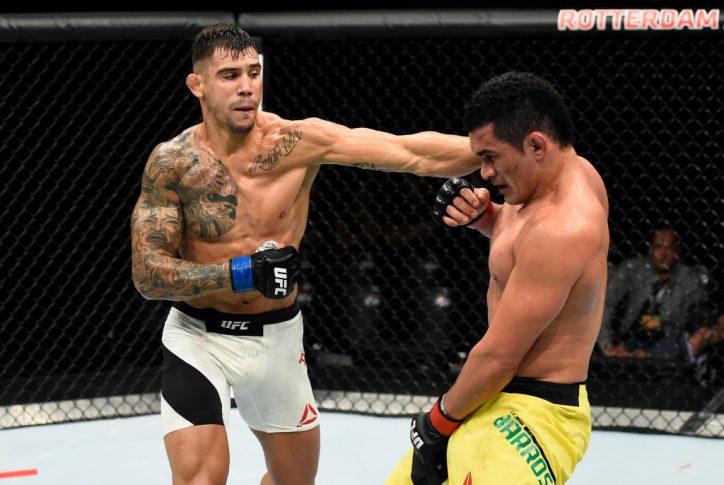 UFCファイトナイト・ロッテルダム:フランシマー・バローゾ vs. アレクサンダル・ラキッチ【オランダ・ロッテルダム/2017年9月2日(Photo by Josh Hedges/Zuffa LLC/Zuffa LLC via Getty Images)】