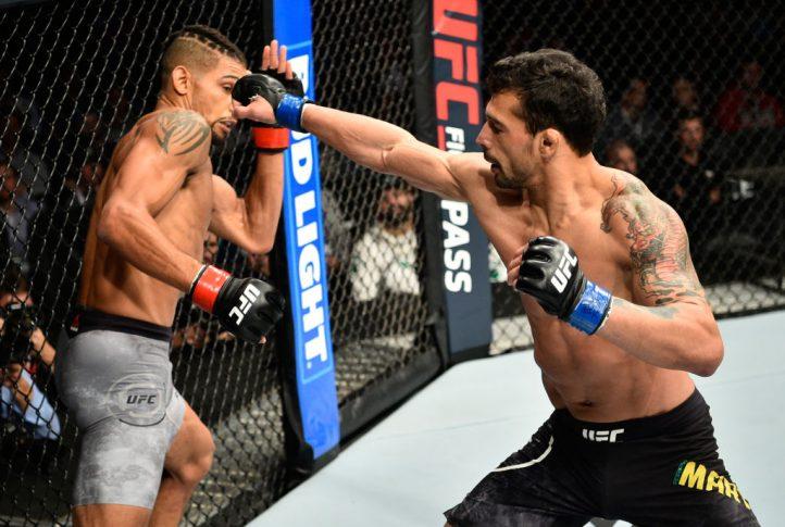 UFC 215:ケイジャン・ジョンソ...