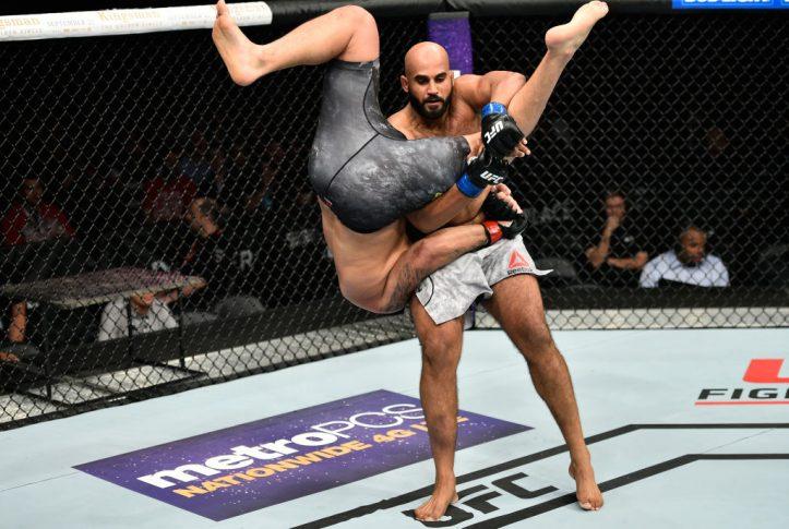 UFC 215:ルイス・エンリケ vs. アルジャン・シン・ブラー【カナダ・エドモントン/2017年9月9日(Photo by Jeff Bottari/Zuffa LLC/Zuffa LLC via Getty Images)】
