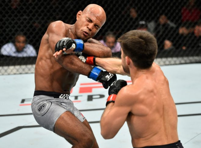 UFC 215:ヘンリー・セフード vs. ウィルソン・ヘイス【カナダ・エドモントン/2017年9月9日(Photo by Jeff Bottari/Zuffa LLC/Zuffa LLC via Getty Images)】