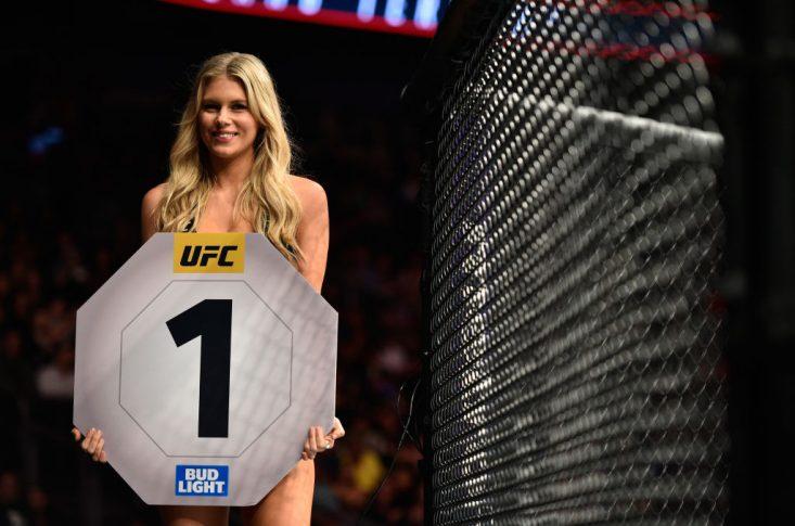 UFC 215:オクタゴンガール【カナダ・エドモントン/2017年9月9日(Photo by Jeff Bottari/Zuffa LLC/Zuffa LLC via Getty Images)】