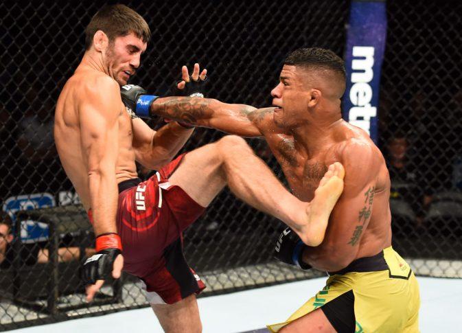 UFCファイトナイト・ピッツバーグ:ジェイソン・サッゴ vs. ギルバート・バーンズ【ペンシルバニア州・アメリカ/2017年9月16日(Photo by Josh Hedges/Zuffa LLC/Zuffa LLC via Getty Images)】
