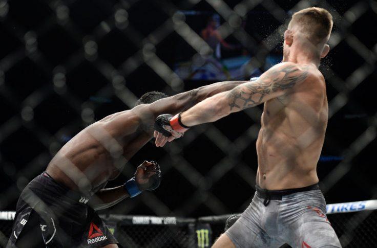 UFCファイトナイト・ピッツバーグ:クリストフ・ヨトゥコ vs. ユライア・ホール【ペンシルバニア州・アメリカ/2017年9月16日(Photo by Brandon Magnus/Zuffa LLC/Zuffa LLC via Getty Images)】