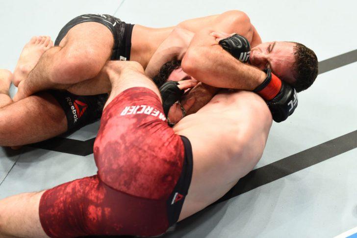 UFCファイトナイト・ピッツバーグ:トニー・マーティン vs. オリビエ・オービン・メルシエ【ペンシルバニア州・アメリカ/2017年9月16日(Photo by Josh Hedges/Zuffa LLC/Zuffa LLC via Getty Images)】