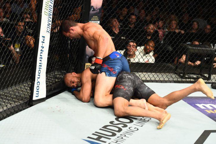 UFCファイトナイト・ピッツバーグ:ルーク・ロックホールド vs. デビッド・ブランチ【ペンシルバニア州・アメリカ/2017年9月16日(Photo by Josh Hedges/Zuffa LLC/Zuffa LLC via Getty Images)】