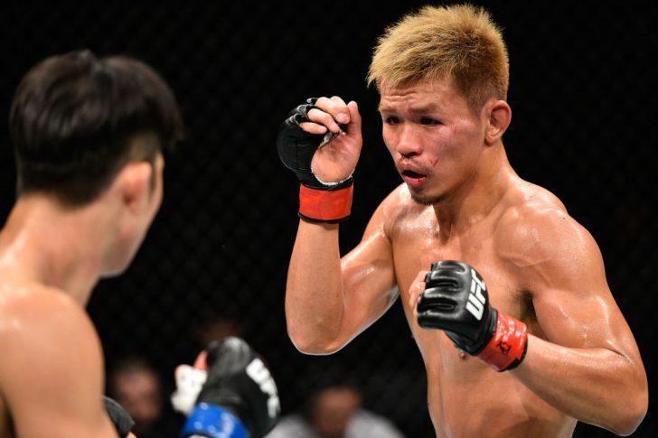 UFCファイトナイト・ジャパン:阿部大治 vs. イム・ヒョンギュ【日本・埼玉/2017年9月23日(Photo by Jeff Bottari/Zuffa LLC/Zuffa LLC via Getty Images)】
