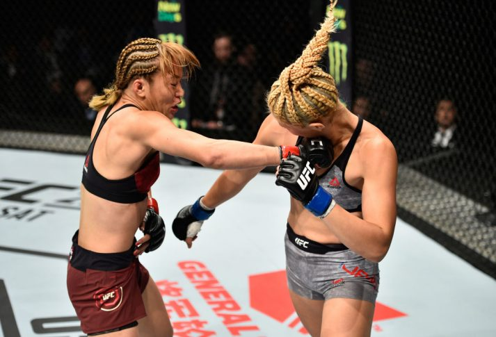 UFCファイトナイト・ジャパン:近藤朱里 vs. ジョン・チャンミ【日本・埼玉/2017年9月23日(Photo by Jeff Bottari/Zuffa LLC/Zuffa LLC via Getty Images)】