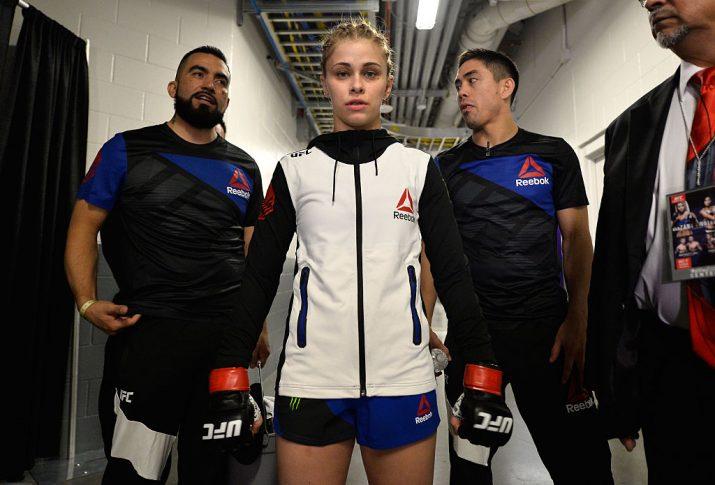 UFCファイトナイト・サクラメント:ペイジ・ヴァンザント【Photo by Brandon Magnus/Zuffa LLC/Zuffa LLC via Getty Images】