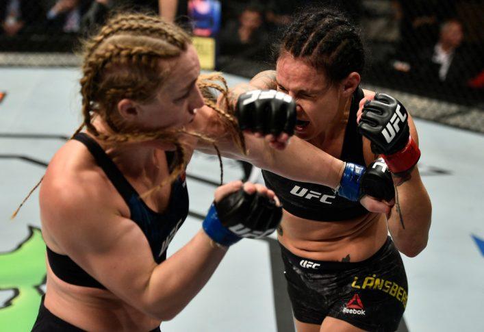 UFCファイトナイト・ポーランド:リナ・ランズバーグ vs. アスペン・ラッド【ポーランド・グダニスク/2017年10月21日(Photo by Jeff Bottari/Zuffa LLC/Zuffa LLC via Getty Images)】