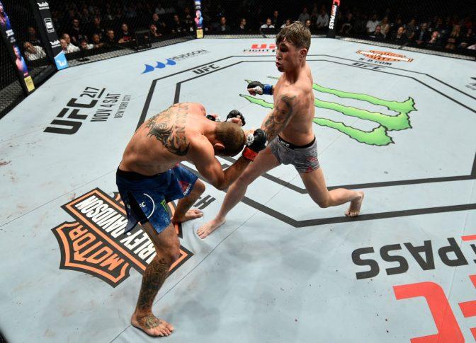 UFCファイトナイト・ポーランド:ドナルド・セラーニ vs. ダレン・ティル【ポーランド・グダニスク/2017年10月21日(Photo by Jeff Bottari/Zuffa LLC/Zuffa LLC via Getty Images)】