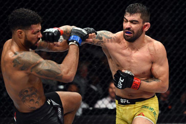 UFCファイトナイト・サンパウロ:エリゼウ・ザレスキ・ドス・サントス vs. マックス・グリフィン【ブラジル・サンパウロ/2017年10月28日(Photo by Josh Hedges/Zuffa LLC/Zuffa LLC via Getty Images)】