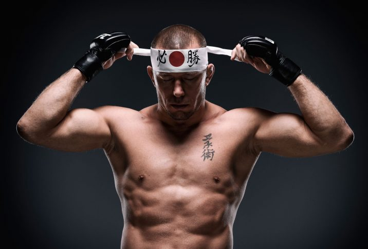 UFC 217:ジョルジュ・サン・ピエール【Photo by Brandon Magnus/Zuffa LLC/Zuffa LLC via Getty Images】