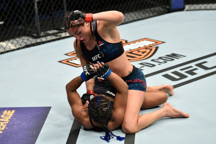 UFCファイトナイト・ノーフォーク:タティアナ・スアレス vs. ビビアン・ペレイラ【アメリカ・バージニア州ノーフォーク/2017年11月11日(Photo by Brandon Magnus/Zuffa LLC/Zuffa LLC via Getty Images)】