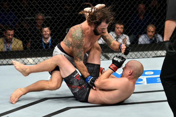 UFCファイトナイト・ノーフォーク:ジョー・ローゾン vs. クレイ・グイダ【アメリカ・バージニア州ノーフォーク/2017年11月11日(Photo by Brandon Magnus/Zuffa LLC/Zuffa LLC via Getty Images)】