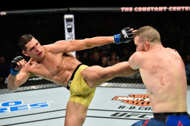 UFCファイトナイト・ノーフォーク:ネイサン・マーコート vs. セザール・フェレイラ【アメリカ・バージニア州ノーフォーク/2017年11月11日(Photo by Brandon Magnus/Zuffa LLC/Zuffa LLC via Getty Images)】