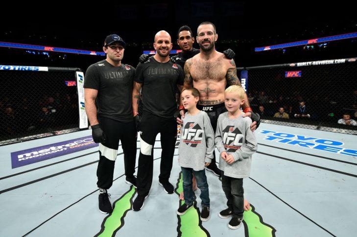 UFCファイトナイト・ノーフォーク:マット・ブラウン vs. ディエゴ・サンチェス【アメリカ・バージニア州ノーフォーク/2017年11月11日(Photo by Brandon Magnus/Zuffa LLC/Zuffa LLC via Getty Images)】
