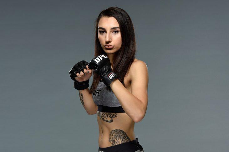UFCファイトナイト・シドニー:ナディア・カセム【オーストラリア・シドニー/2017年11月16日(Photo by Josh Hedges/Zuffa LLC/Zuffa LLC via Getty Images)】