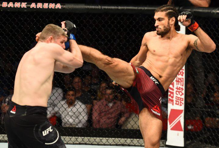 UFCファイトナイト・シドニー:エリアス・セオドル vs. ダニエル・ケリー【オーストラリア・シドニー/2017年11月19日(Photo by Josh Hedges/Zuffa LLC/Zuffa LLC via Getty Images)】